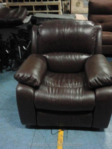 cheers brown leather sofa recliner