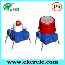Micro mushroom electrical wiring push button switch