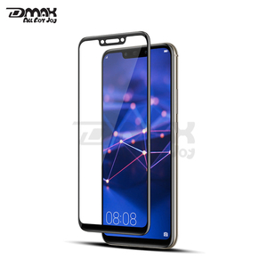 9H 3D Asahi tempered glass full cover anti-bubble screen protector for Huawei mate 20 lite phone screen guard