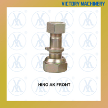 Phosphate wheel bolt front Hino AK