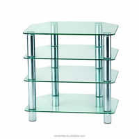 4 Shelve Glasses Stereo Stand Furniture