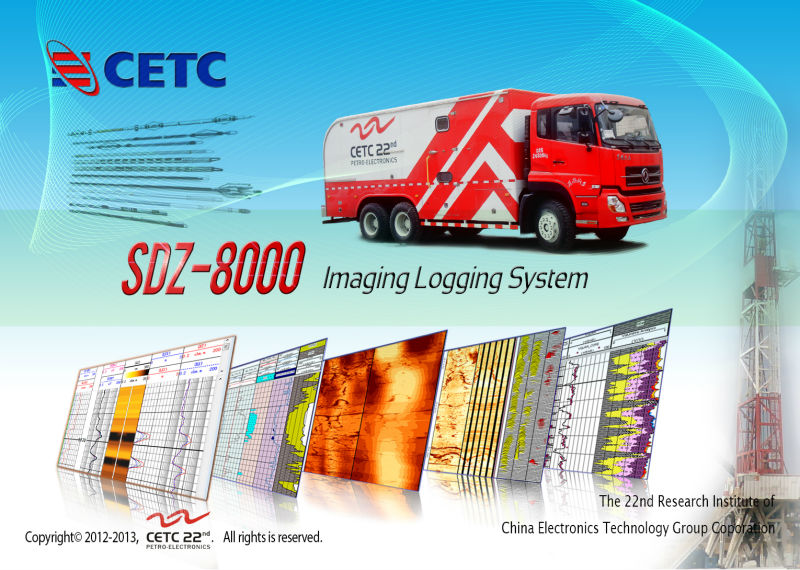 imaging logging system / high speed telemetry