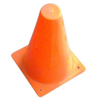 Temporary Plastic Traffic Safety Barricade Cone