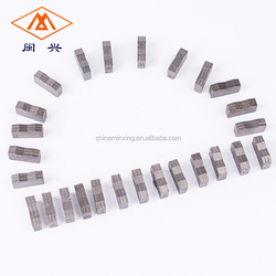 China manufacturer long lifespan diamond tools for cutting granite marble stone Blocks segments