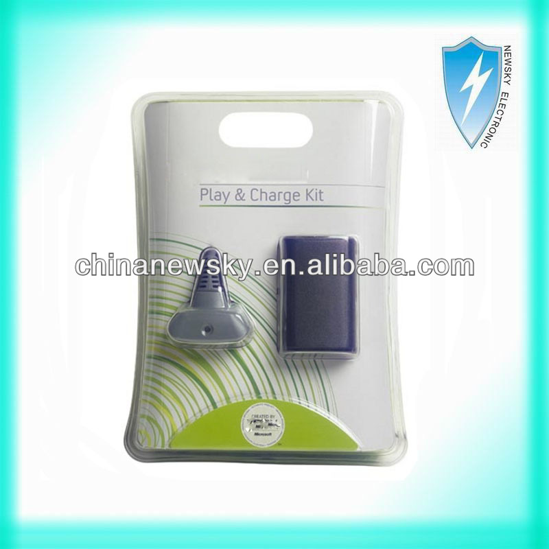 For Xbox 360 Play & Charge Kit