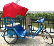Electric rickshaw tricycle pedicab with spare parts for sale