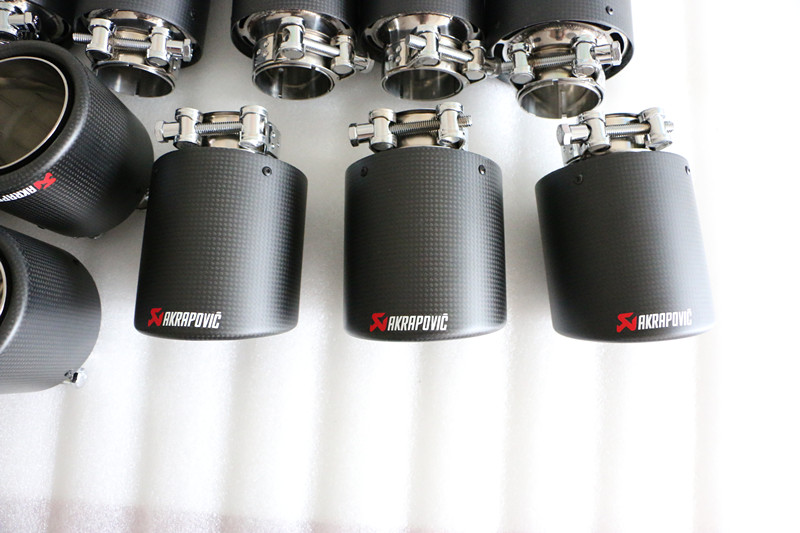 2019 GRWA performance exhaust tip carbon fiber tip