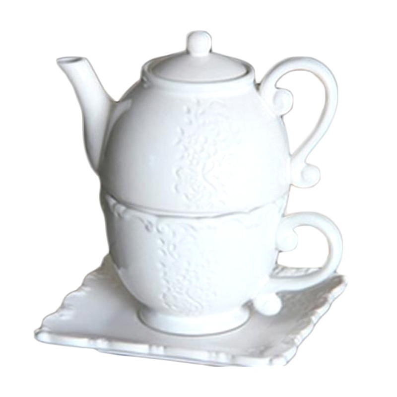 chaozhou factory hot sale wholesale tea coffee set tea for one set