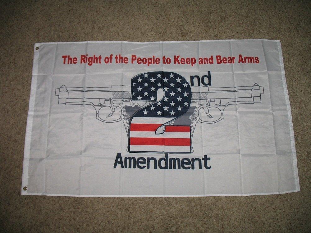 Patriotic Don't Tread On My Rights USA 2nd Amendment 3 x 5 Foot Flag Gun Rights