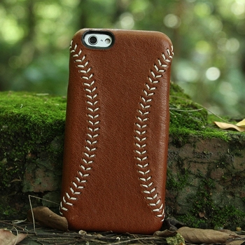 check out 688f4 00b31 High Quality leather Mobile Phone Case for iPhone with handmade baseball  stitching DHL free shipping, View case for iphone, Hiram Beron Product ...