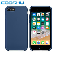 COOSHU Original Quality Official Genuine Liquid Silicone Phone Case for Apple iPhone 7 8 Plus X