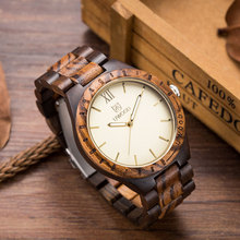 Uwood Brand Luxury Wood Watch With Japan Movt Man Watch