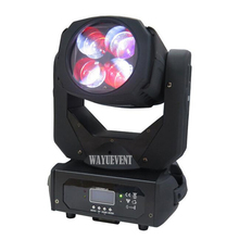 4*25 watt LED Super Strahl Moving Head Licht mit Farbe Rad 100 watt Mini moving head strahl 4x25 watt super wirkung led moving head strahl