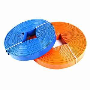 Agriculture irrigation flexible PVC lay flat/layflat water delivery hose pipe