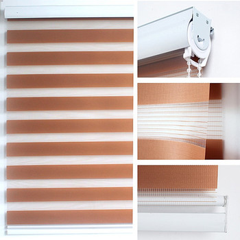 China supplier ready made zebra roller window blinds