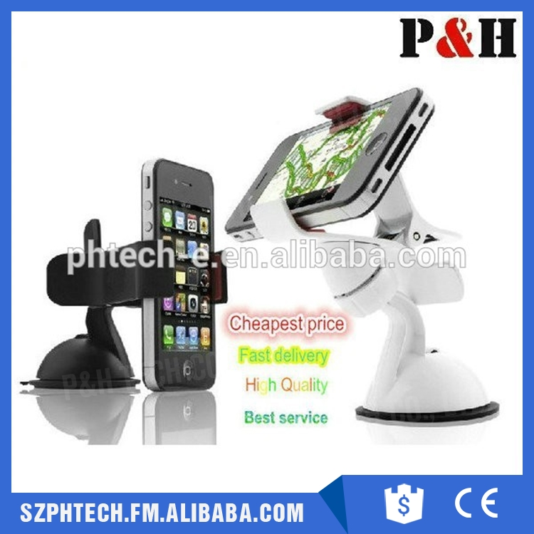 New Product 2015 Universal Mobile Phone Holder Car Mounts For CD-Slot