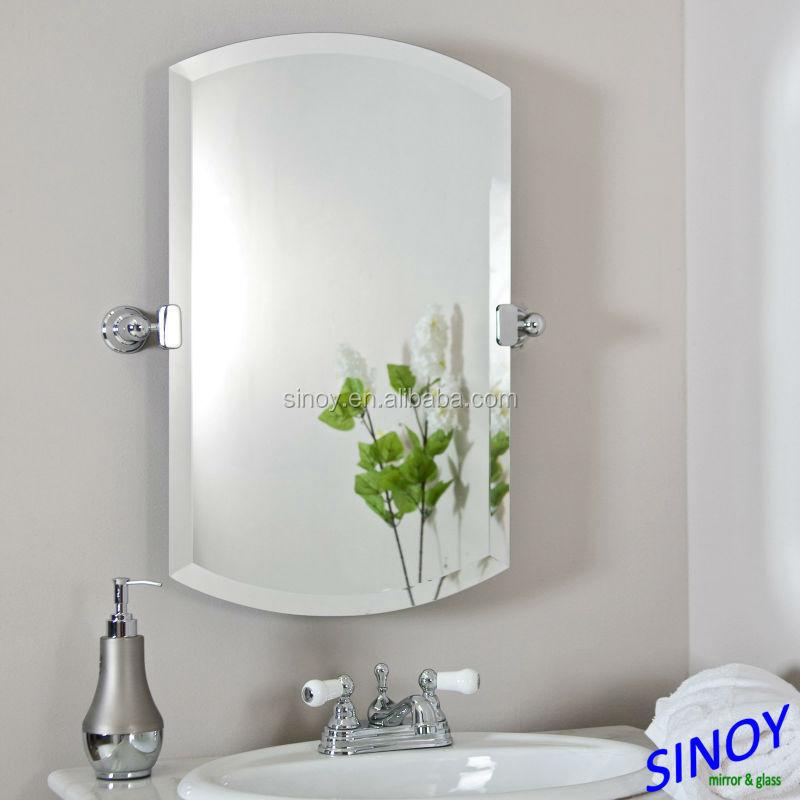 Sinoy 3mm biselado espejo para ba o biselado de vidrio sin marco espejo espejo biselado viajes - Espejos biselados para banos ...