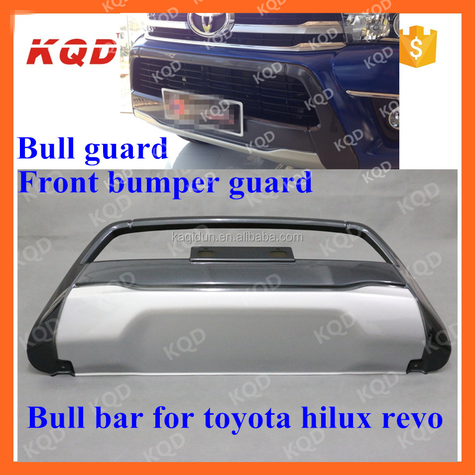 2016 toyota hilux revo front bumper guard hilux pick up accessory BULL BAR partes de revo toyota hilux 4x4 accessories