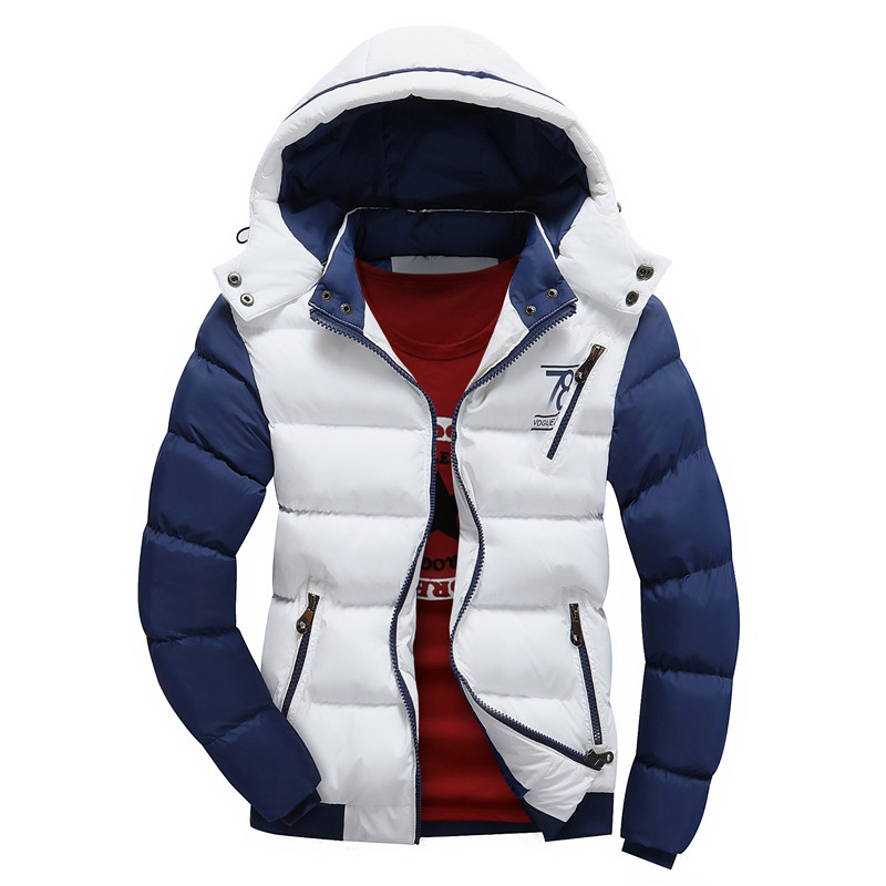New 2015 Brand Winter Jacket Men Warm Down Jacket Casual