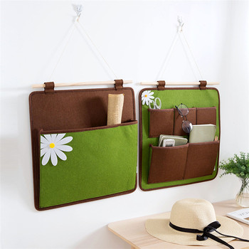 Vertical Home Wall Hanging Decorative Organizer Bag For Magazines ...