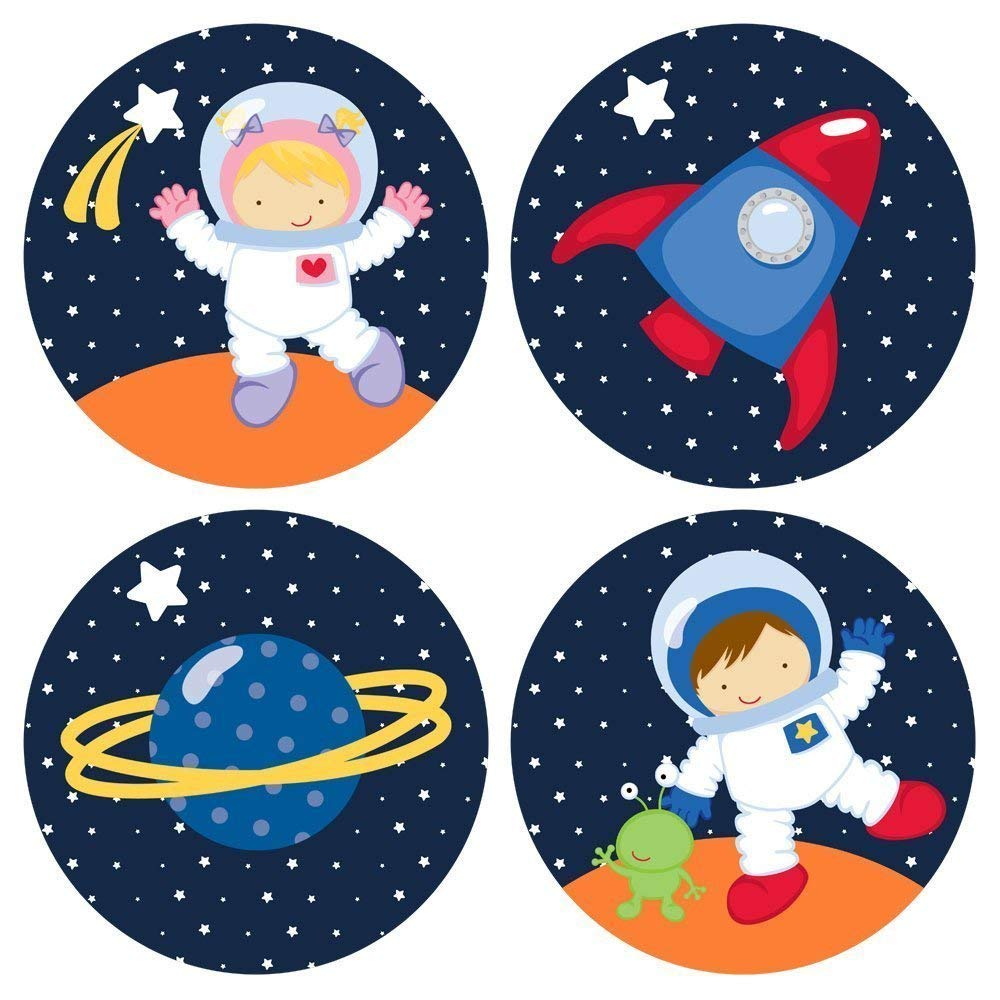 astronaut party printables - 1000×1000