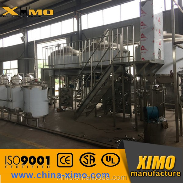 Restaurant Draft Beer brewing Equipment for beer Plant and beer prodcution line