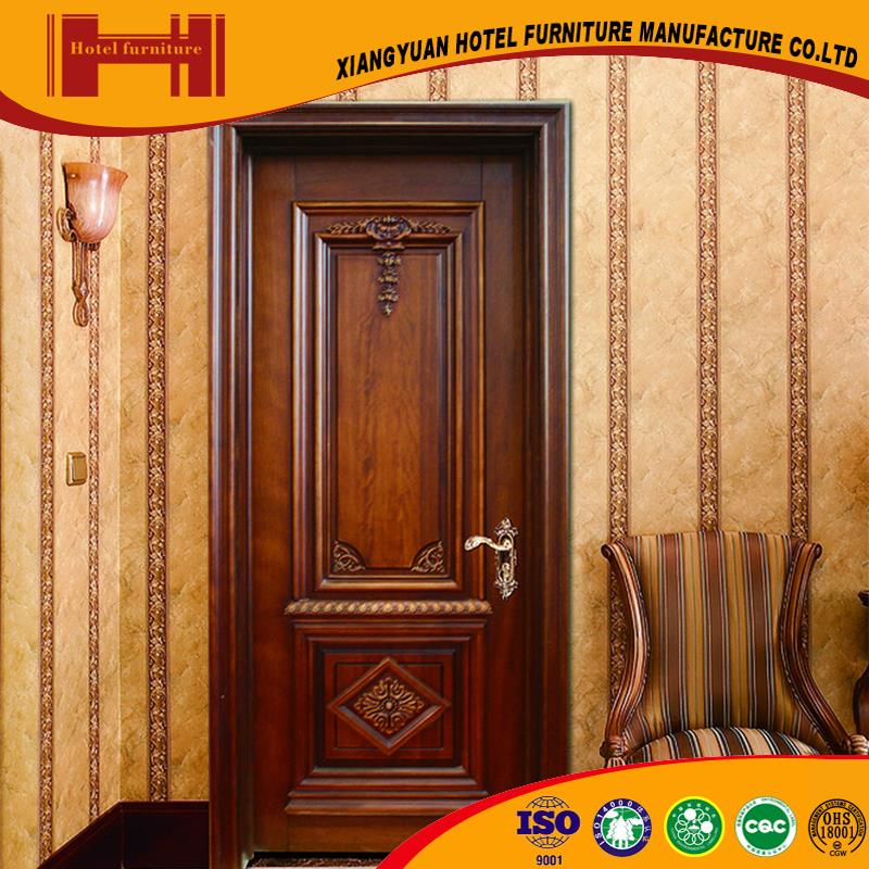 XY quality guarantee durable ISO18001 solid wood ul listed fire door