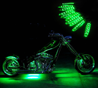 Rgb Rf Controller For Motorcycle Led Light Kit With Wireless ...