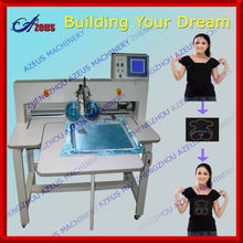 Ultrasonic hot fix rhinestone setting machine