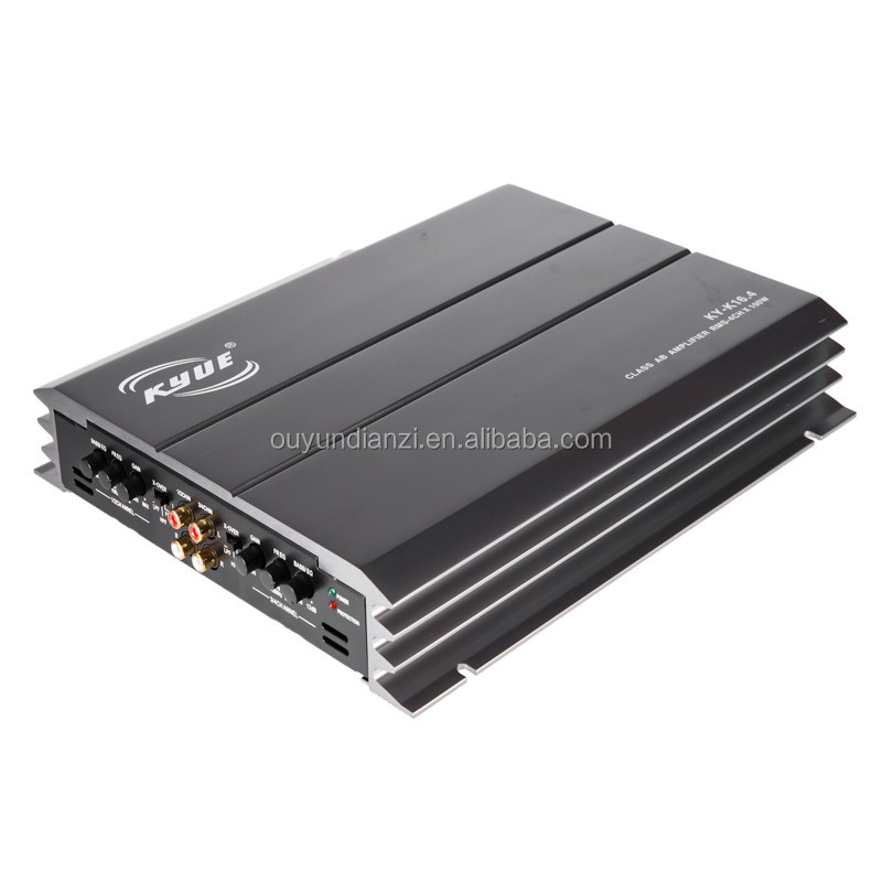 Factory Price 100W Mosfet Car Amplifier With 4 Channel