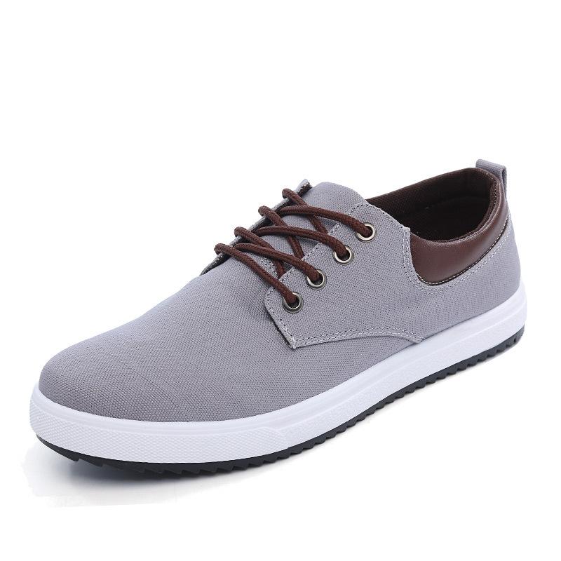 design cheap canvas men sneakers