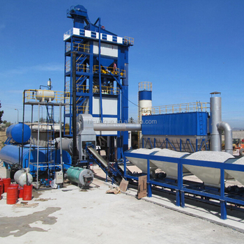 LB2000 Asphalt Mixing Plant with Production Capacity 160T/H in International Market