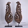 2016 New chinese art dragon and fish design polyresin sculptures