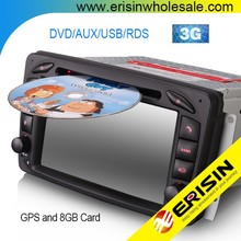 Erisin ES7163B 2 Din 7 inch Car <span class=keywords><strong>DVD</strong></span> Player GPS cho Mercedes Vito