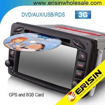 erisin es7163b 2 din 7 inch car dvd player gps for mercedes vitoerisin es7163b 2 din 7 inch car dvd player gps for mercedes vito