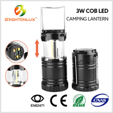 Hot Sale Cheap Price Plastic Material Outdoor Hand Multi-functional Bright 3w COB led Camping Lantern Light with Magnet
