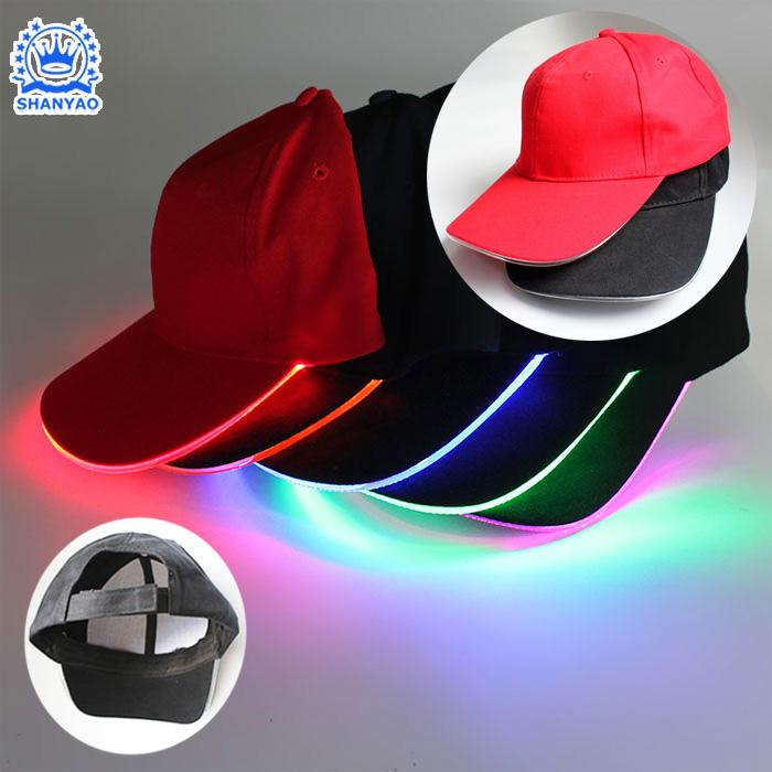 268f93d9 Welcome Factory Wholesale Hot Sale LED Baseball Cap Custom Various LED Cap  or Hat