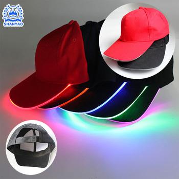 Welcome Factory Wholesale Hot Sale LED Baseball Cap Custom Various LED Cap  or Hat 22759c5f3b6
