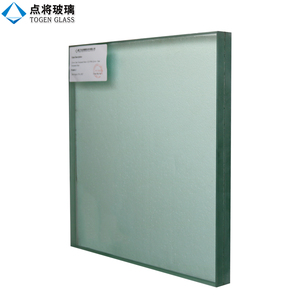 Extra Thick Laminated Tempered Glass Wall for Swimming Pool