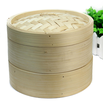 Universal vegetables cookware rice bamboo steamer basket