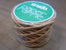2MM twisted paper twine,paper string,75G*44m paper rope