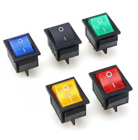 KCD4-101 Rocker Switch ON-OFF 2 Position 4 Pins / 6 Pins Electrical equipment With Light Power Switch 16A 250VAC/ 20A 125VAC