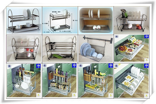 Commercial Stainless Steel Cabinet Square Dish Rack Kitchen Plate Rack