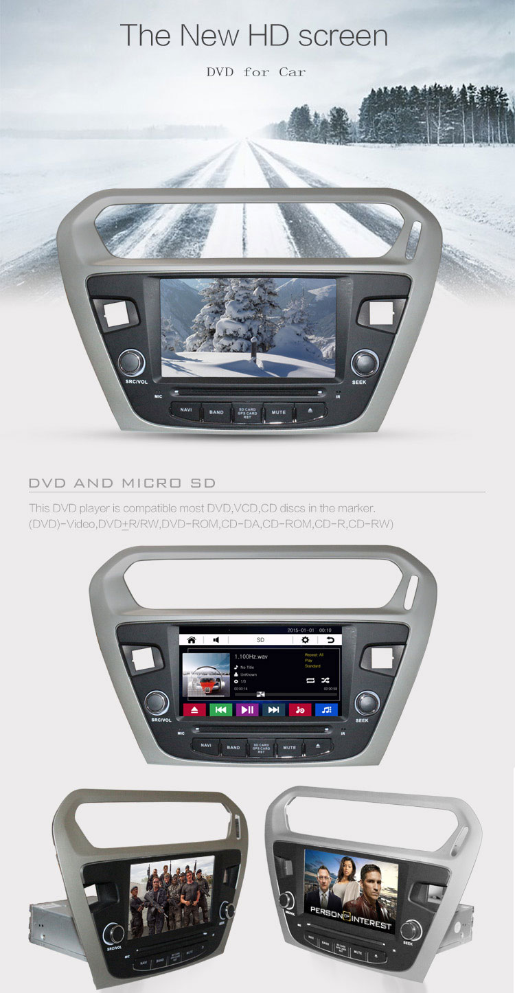 Car Dvd Player With Bluetooth Audio Car Stereo Gps Navigation Tracker For Wince