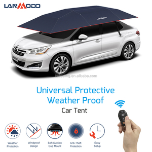 Patent Holder lanmodo 1st generation remote control automatic car sunshade with logo