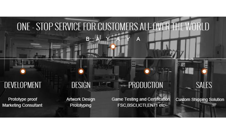 OEM board game maker, Hoge Kwaliteit Custom Academy Board Game fabricage