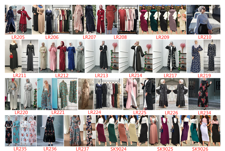 Latest new  fashion ethnic muslim dress