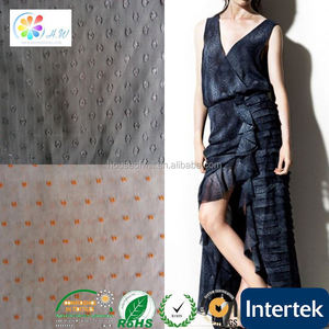 2014 China factory wholesale SGS tricot flocked velvet fabric for jewelry box china manufacturer fabric