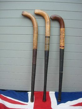 Antique Hockey Sticks