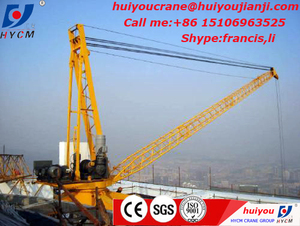 Derrick Crane 10t with CE certificated and competitive price for sale in Algeria